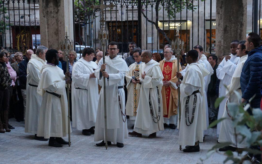 Inauguración del año jubilar con motivo del VI Centenario de la muerte de San Vicente Ferrer
