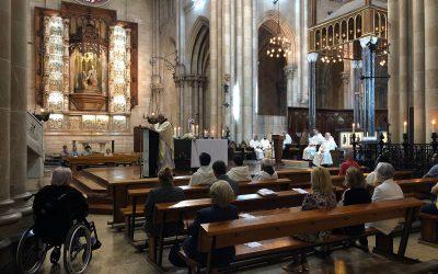 Eucaristía solemne de la memoria de la Traslación de las reliquias de Nuestro Padre Santo Domingo de Guzmán