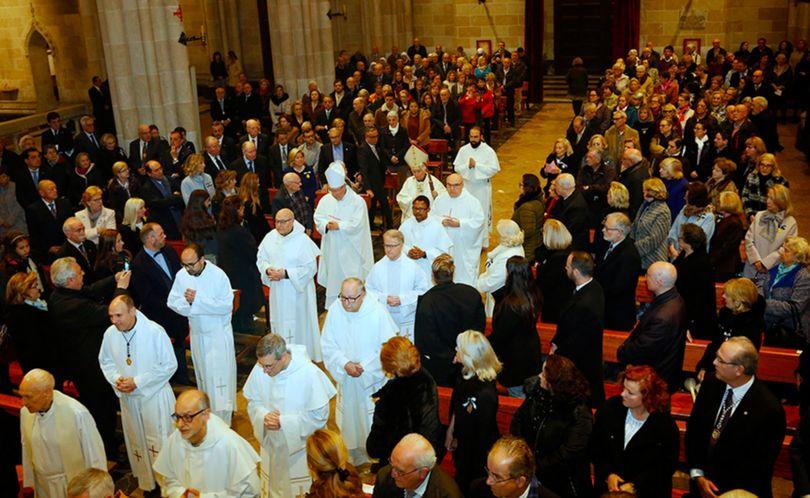 Misa solemne con motivo del 600 aniversario de San Vicente Ferrer